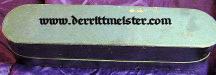 OFFICER'S DRESS SASH WITH STORAGE CARTON - WÜRTTEMBERG - Imperial German Military Antiques Sale