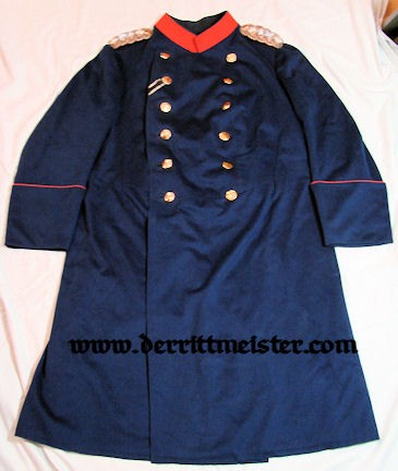 ÜBERROCK - GENERAL der INFANTERIE À LA SUITE - GRENADIER-REGIMENT KÖNIG KARL (5. WÜRTTEMBERGISCHES) Nr 123 - WÜRTTEMBERG - Imperial German Military Antiques Sale