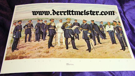 COLLECTORS' MANUAL - NAVY & SCHUTZTRUPPEN UNIFORMS - Imperial German Military Antiques Sale