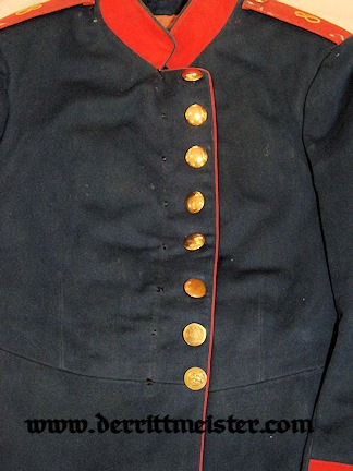 ENLISTED MAN'S INFANTERIE-REGIMENT Nr 8 TUNIC - BAVARIA - Imperial German Military Antiques Sale