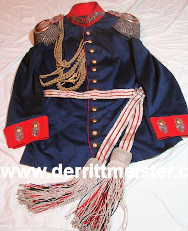 COMPLETE DRESS TUNIC - GENERALMAJOR - WÜRTTEMBERG - Imperial German Military Antiques Sale