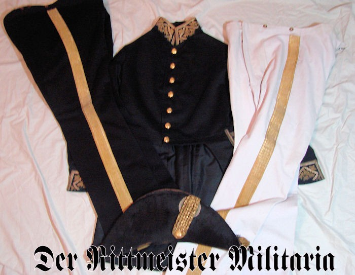 SENIOR PALACE OFFICIAL'S UNIFORM GROUP - SAXE-ALTENBURG - Imperial German Military Antiques Sale