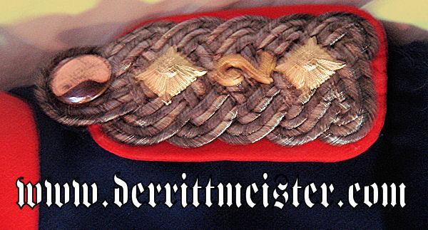 OBERST'S ÜBERROCK - ULANEN-REGIMENT von KATZLER (SCHLESISCHES) Nr 2 - PRUSSIA - Imperial German Military Antiques Sale
