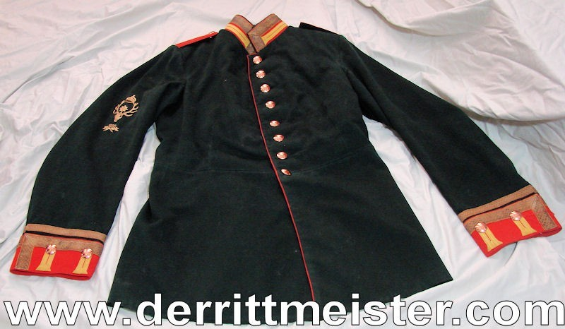 NCO TUNIC - GARDE-JÄGER-Bataillon - PRUSSIA - Imperial German Military Antiques Sale