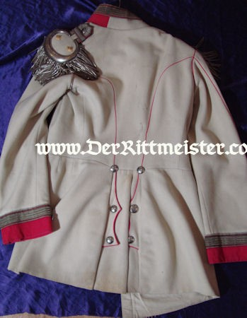 KÜRAßIER-REGIMENT HERZOG FRIEDRICH EUGEN von WÜRTTEMBERG (WESTPREUß.) Nr 5 OBERST DRESS TUNIC - PRUSSIA - Imperial German Military Antiques Sale