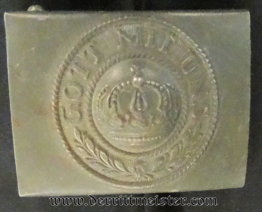 1915 ENLISTED MAN'S BELT BUCKLE - Imperial German Military Antiques Sale