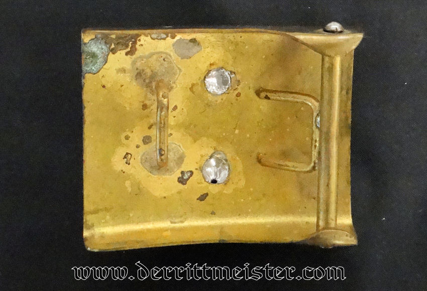 PRE WW I ENLISTED MAN'S BELT BUCKLE - PRUSSIA - Imperial German Military Antiques Sale