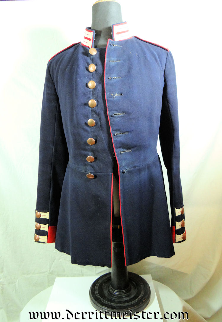 IDENTIFIED ENLISTED MAN'S TUNIC FOR KAISER FRANZ GARDE-GRENADIER-REGIMENT Nr 2 - PRUSSIA - Imperial German Military Antiques Sale