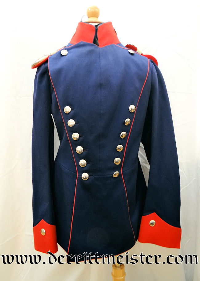 ONE-YEAR-VOLUNTEER (OYV) GEFREITER'S ULANEN-REGIMENT Nr 5 ULANKA (TUNIC) - Imperial German Military Antiques Sale
