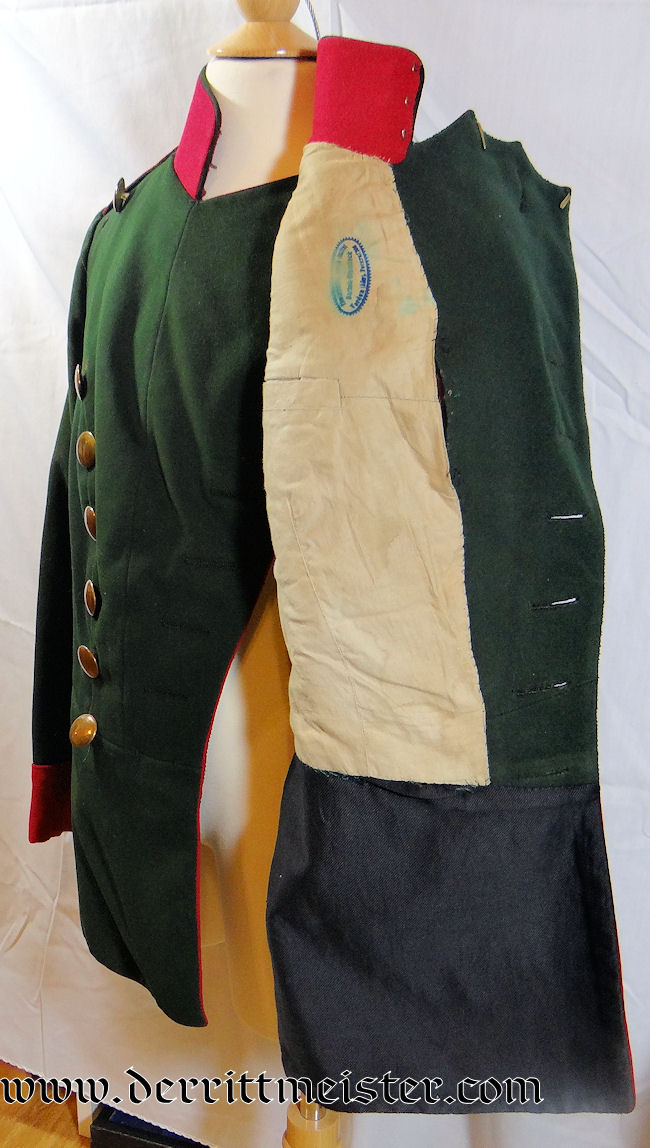 ENLISTED MAN'S CHEVAULEGERS-REGIMENT Nr 1 WAFFENROCK - BAVARIA - Imperial German Military Antiques Sale