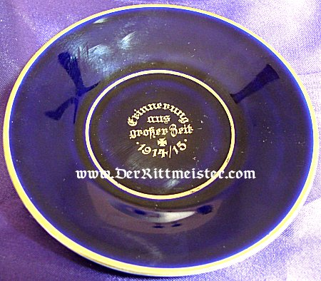 DEMITASSE COFFEE CUP AND SAUCER WITH IRON CROSS MOTIF - Imperial German Military Antiques Sale