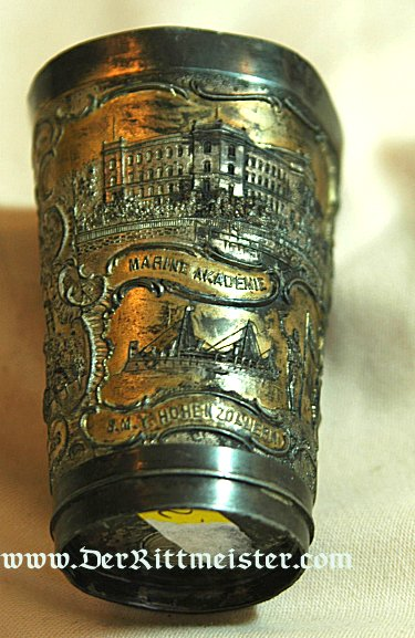 SMALL CUP HONORING THE NAVY AND KIEL - Imperial German Military Antiques Sale