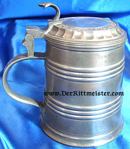 METAL TANKARD - Imperial German Military Antiques Sale