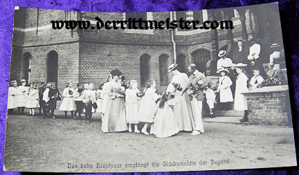 POSTCARD - CROWN PRINCE WILHELM - WIFE - CROWN PRINCESS CECILIE - Imperial German Military Antiques Sale