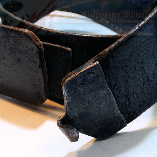 PRUSSIA - LEATHER BELT AND BUCKLE - ENLISTED MAN - PREWAR ISSUE - Imperial German Military Antiques Sale