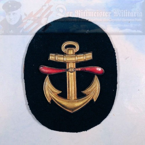 SLEEVE PATCH - FLIEGER FLUGMAAT - KAISERLICHE MARINE - Imperial German Military Antiques Sale
