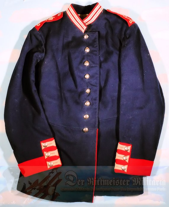 BAVARIA - TUNIC - ENLISTED MAN'S - DEPOT-ISSUED - INFANTERIE-REGIMENT NR 10 - Imperial German Military Antiques Sale