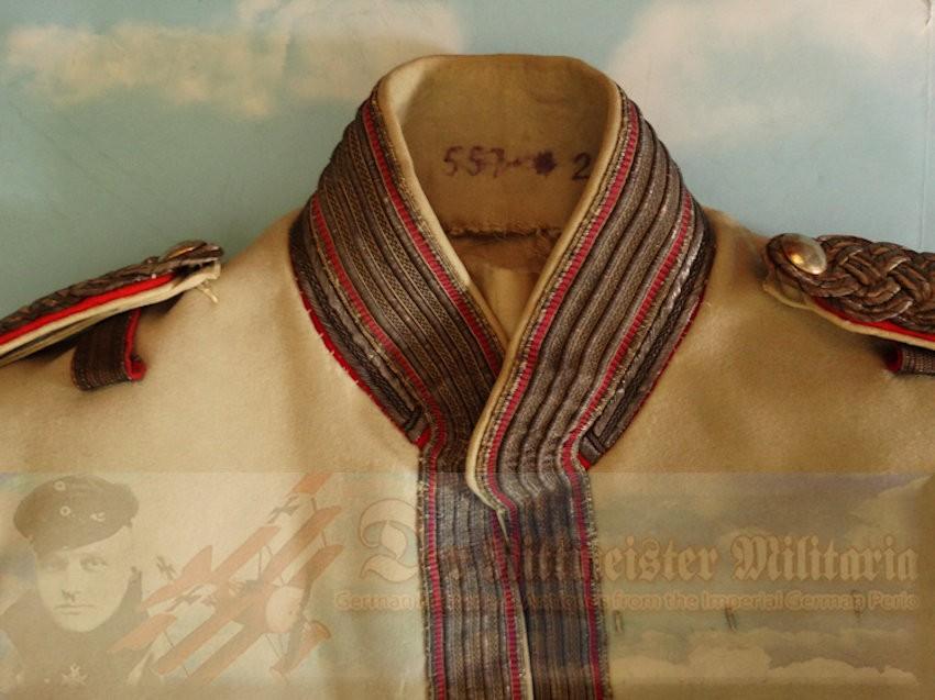 PRUSSIA - TUNIC - MAJOR'S - REGIMENT der GARDES du CORPS - Imperial German Military Antiques Sale