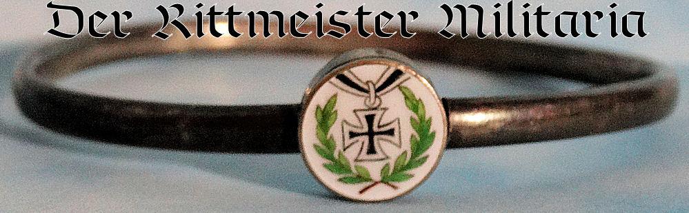 PATRIOTIC BRACELET - IRON CROSS BANGLE - Imperial German Military Antiques Sale