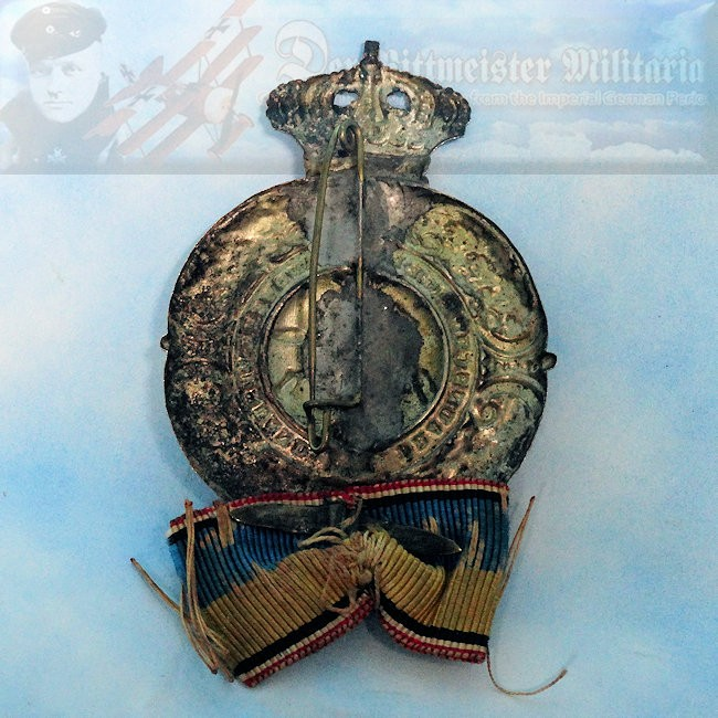 BRAUNSCHWEIG - BADGE -VETERAN ASSOCIATION - Imperial German Military Antiques Sale
