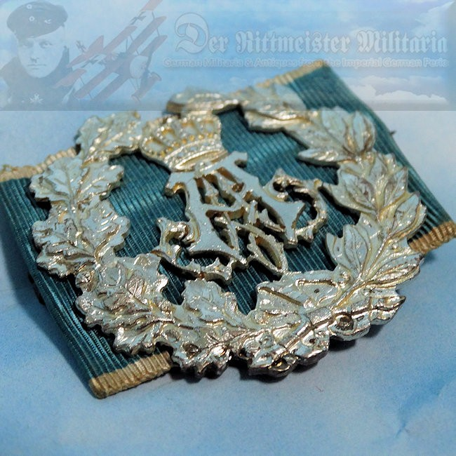 BAVARIA - SHOOTING BADGE - PRINZ ALFONS 2nd CLASS - Imperial German Military Antiques Sale