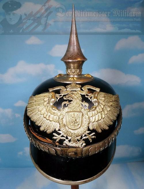 BERLIN - PICKELHAUBE - OFFICER  - REICHSKOLONIAL (SCHUTZTRUPPEN) - Imperial German Military Antiques Sale