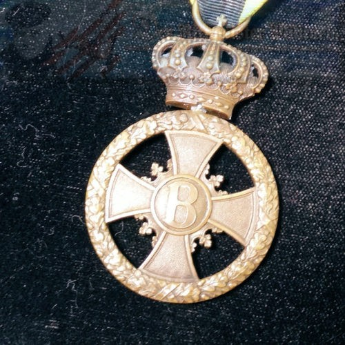 SAXE-MEININGEN - WAR SERVICE MEDAL - Imperial German Military Antiques Sale