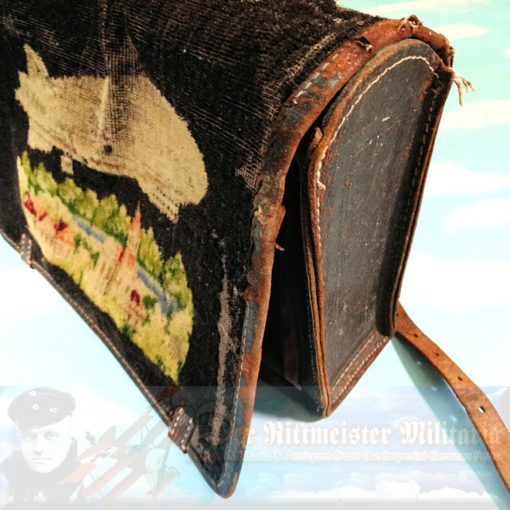ZEPPELIN - BOOK BAG OR BRIEF CASE - Imperial German Military Antiques Sale