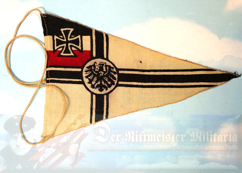 PENNANT - SMALL KRIEGSFLAGGE. - Imperial German Military Antiques Sale