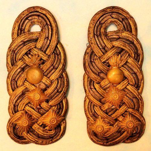 WÜRTTEMBERG - SHOULDER BOARDS - ARTILLERIE GENERALOBERST - Imperial German Military Antiques Sale