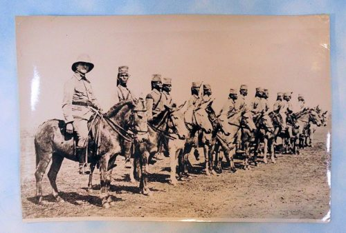 PHOTOGRAPH - ORIGINAL - ASKARI ABTEILUNG NR 117 - AFRICA - Imperial German Military Antiques Sale