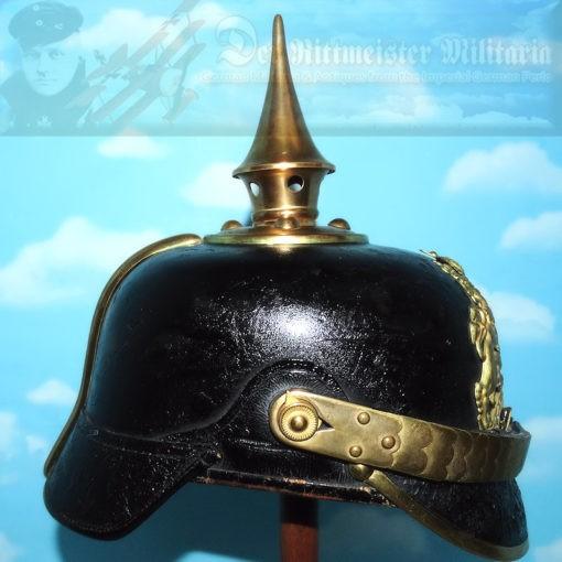 BAVARIA - PICKELHAUBE - ONE-YEAR-VOLUNTEER - INFANTERIE REGIMENT - Imperial German Military Antiques Sale