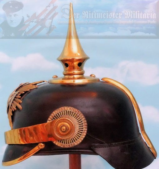 SAXONY - PICKELHAUBE - RESERVE SENIOR NCO - INFANTERIE - Imperial German Military Antiques Sale