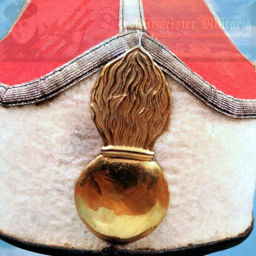 MITRE - OFFICER - KAISER ALEXANDER GARDE-GRENADIER-REGIMENT NR 1 - Imperial German Military Antiques Sale