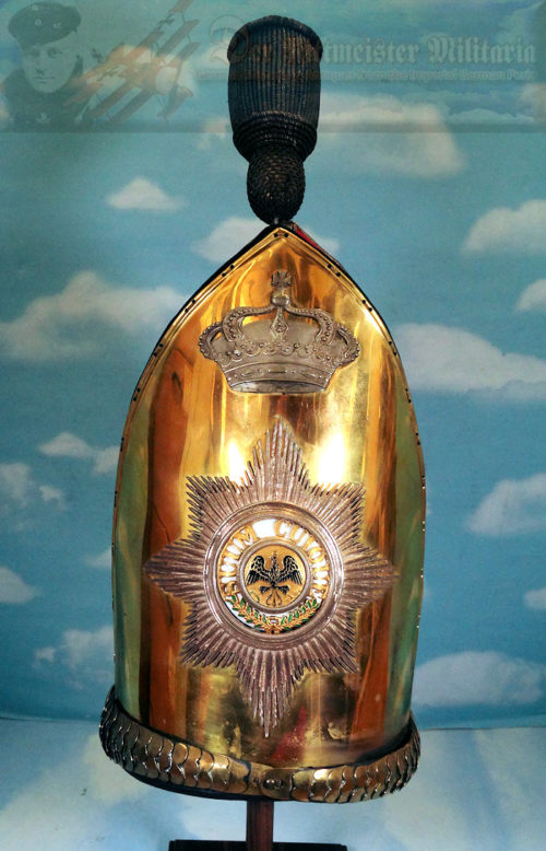 MITRE - OFFICER - KAISER ALEXANDER GARDE-GRENADIER-REGIMENT NR 1 - Imperial German Military Antiques Sale