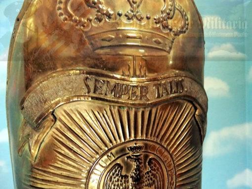 MITRE - RUSSIAN-STYLE - ENLISTED MAN - ERSTE GARDE REGIMENT ZU FUß BATAILLON NR I - Imperial German Military Antiques Sale