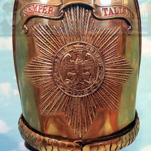 MITRE - RUSSIAN-STYLE - ENLISTED MAN - MUSEUM COPY - EGRzuFUß BATAILLON NR I - Imperial German Military Antiques Sale