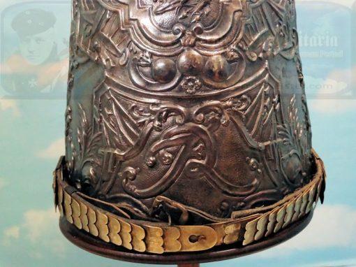 MITRE - ENLISTED MAN - ERSTE GARDE REGIMENT ZU FUß BATAILLON NR III - FRIEDRICH der GROßE-STYLE - Imperial German Military Antiques Sale