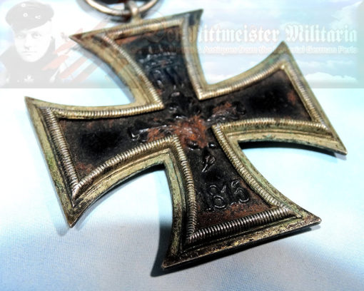IRON CROSS - 1914 - 2nd CLASS AND AWARD DOCUMENT - Imperial German Military Antiques Sale