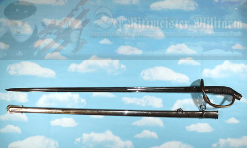 SWORD - PRUSSIA - INFANTERIE OFFIZIER'S M-1889 DEGEN - ATTRIBUTED TO PRINZ HEINRICH