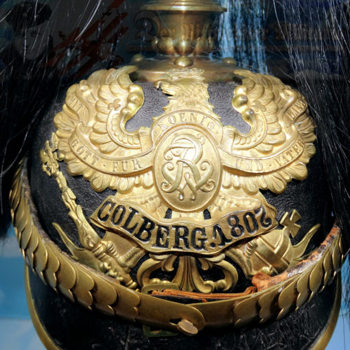 PRUSSIA - KUGELHELM - OFFICER - PRE-1897 - FELDARTILLERIE-REGIMENT NR 2/FELDARTILLERIE-REGIMENT NR 3 PARADE - Imperial German Military Antiques Sale