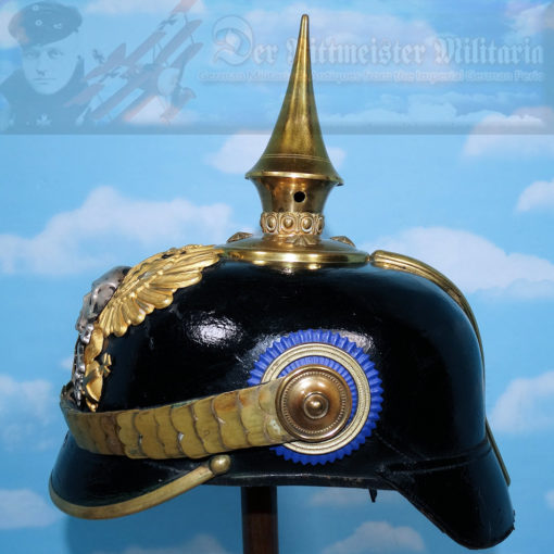 PICKELHAUBE - BRAUNSCHWEIG - RESERVE OFFICER - INFANTERIE-REGIMENT NR 92 - Imperial German Military Antiques Sale