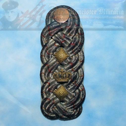 SHOULDER BOARD - HESSE-DARMSTADT -OBERST - Imperial German Military Antiques Sale