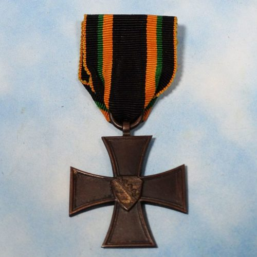 SAXE-COBURG UND GOTHA - WAR HONOR SERVICE BADGE - 2nd CLASS