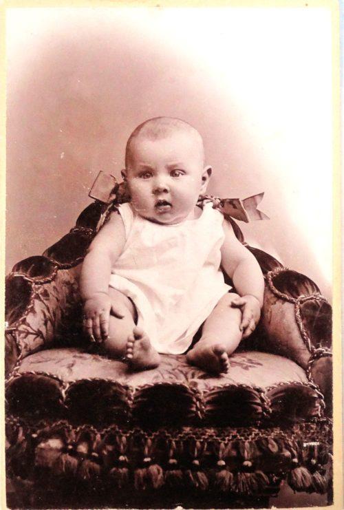Carte De Visite Manfred Von Richthofen As A Baby Archives