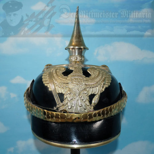 PRUSSIA - PICKELHAUBE - OFFICER - LINE-DRAGONER-REGIMENT