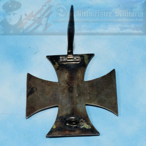 IRON CROSS - 1914 - 1st CLASS - PRIVATELY-PURCHASED - NON-VAULTED - .800 SILVER - Imperial German Military Antiques Sale