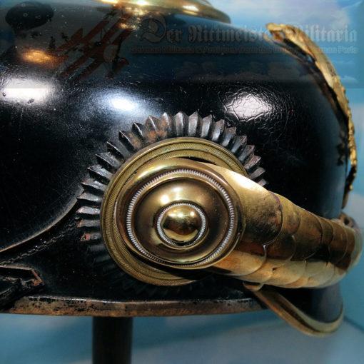 PRUSSIA - KUGELHELM - RESERVE OFFICER - FELDARTILLERIE-REGIMENT NR 10 OR NR 46 - Imperial German Military Antiques Sale
