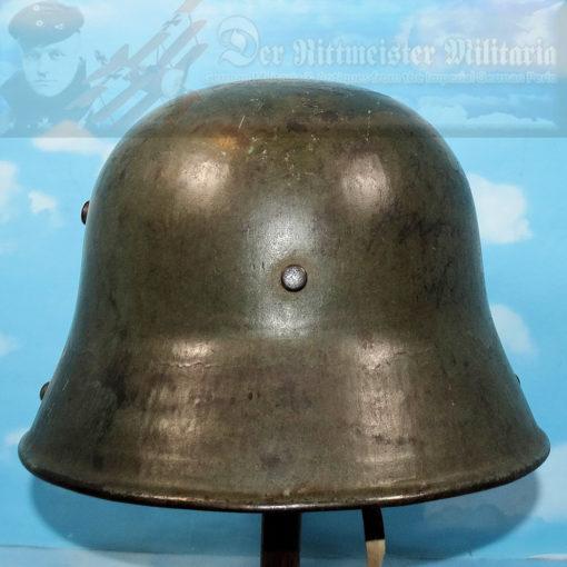 PRUSSIA - M-1917 STAHLHELM - 1. GARDE-REGIMENT ZU FUß - Imperial German Military Antiques Sale