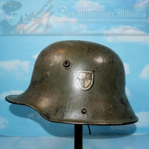 PRUSSIA - M-1917 STAHLHELM - 1. GARDE-REGIMENT ZU FUß
